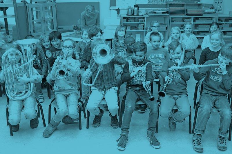 Muziek of Theater op school