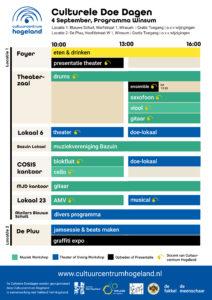 Doe Dagen Programma 4 September Winsum