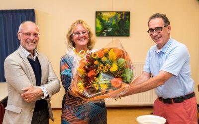 Uitgesteld afscheid Anne van der Sluijs